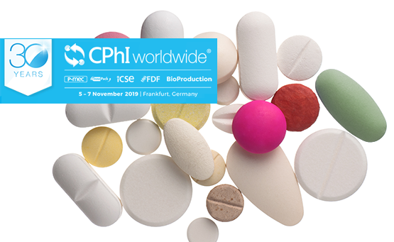 Meet us and our partners at CPhI 2019