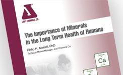 Jost booklet about minerals